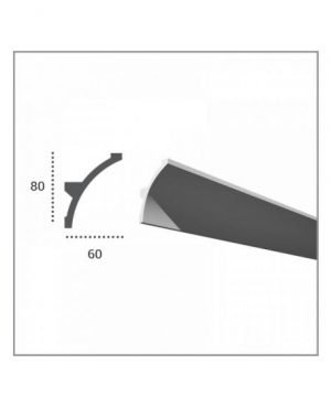 Profil pentru banda LED din poliuretan KF702