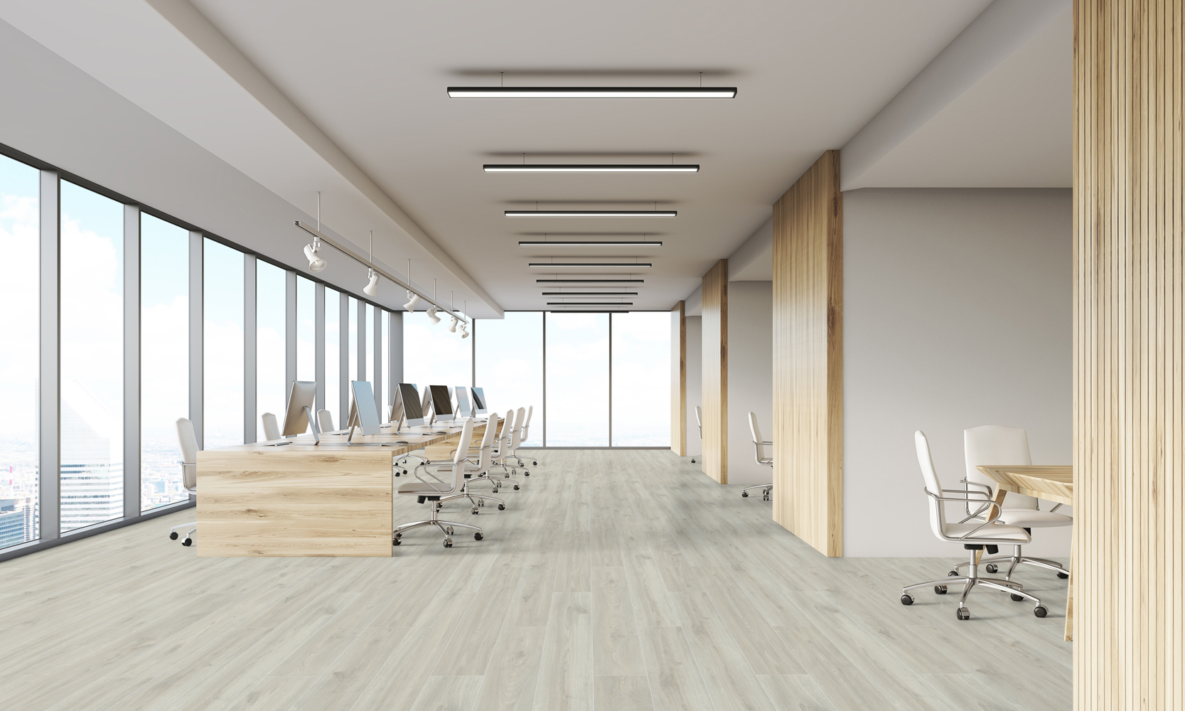 Parchet laminat rezistent la apa Swiss Krono Grand Selection Evolution D 4508 Ivory Oak poza noua 2021