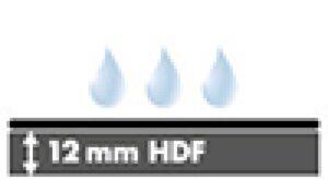 HDF 12mm