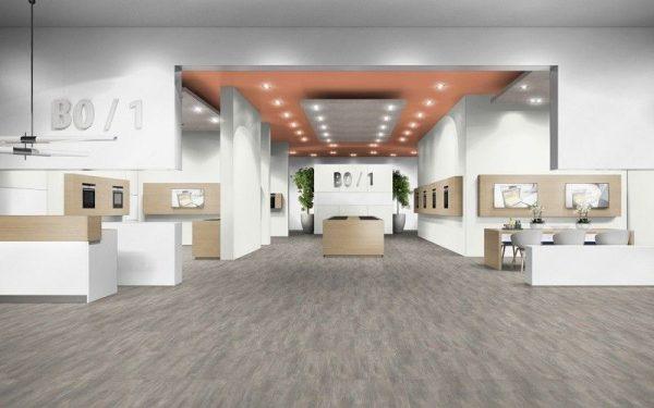 Parchet EGGER PRO Design Beton Gri Deschis EPD016-6