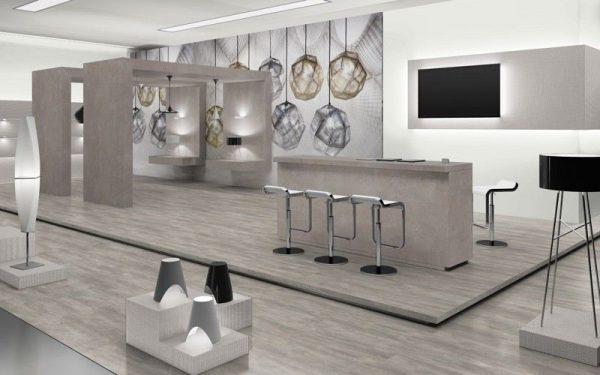 Parchet EGGER PRO Design Beton Gri Deschis EPD016-8