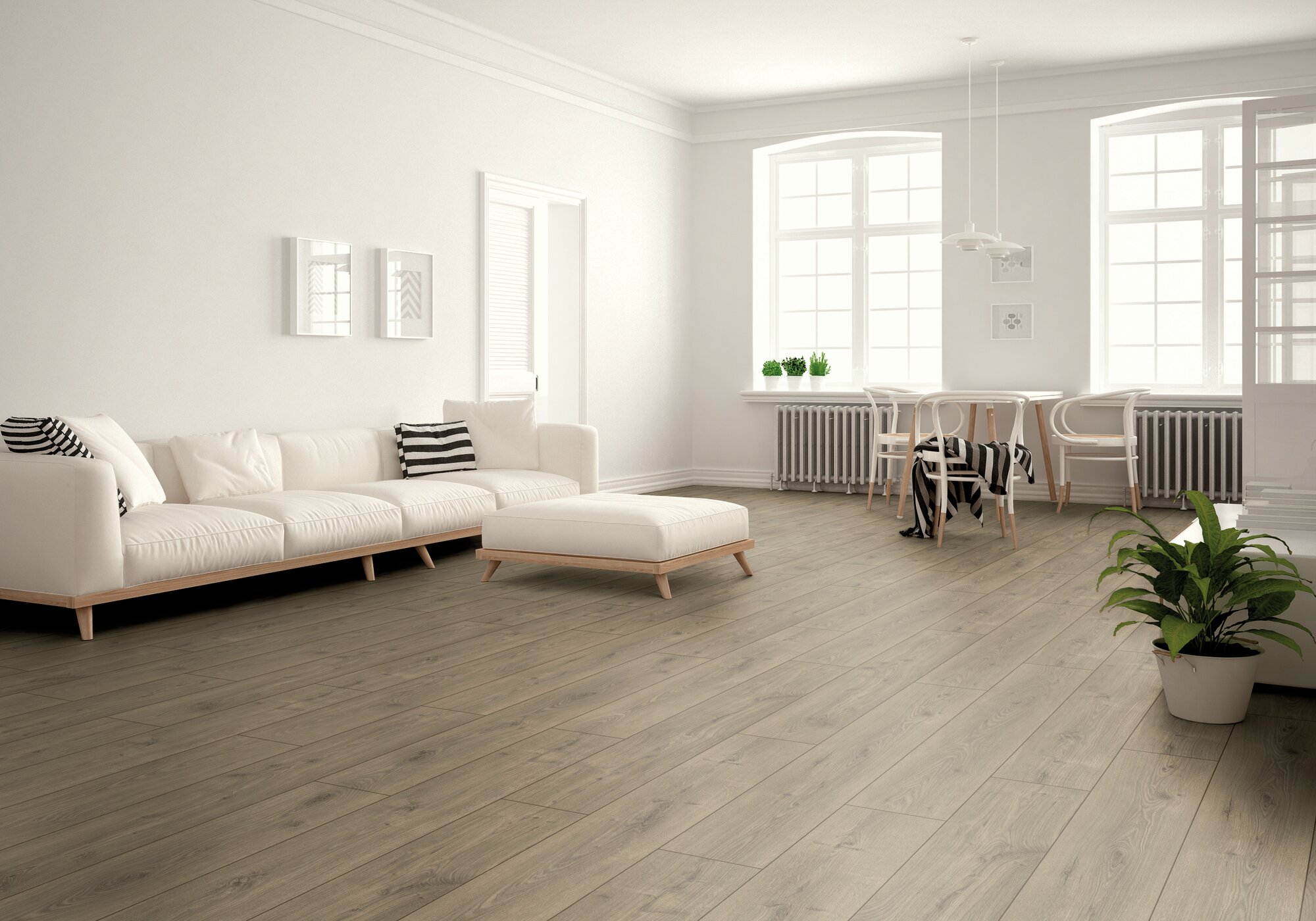 Parchet laminat rezistent la apa Swiss Liberty Natural Oak Brown D 4931 poza noua 2021