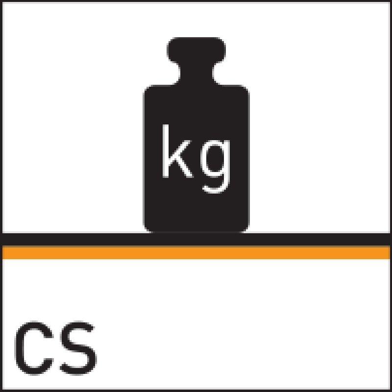 rezistenta la greutate pana la 310 kPa
