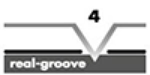 tesitura 4V-groove