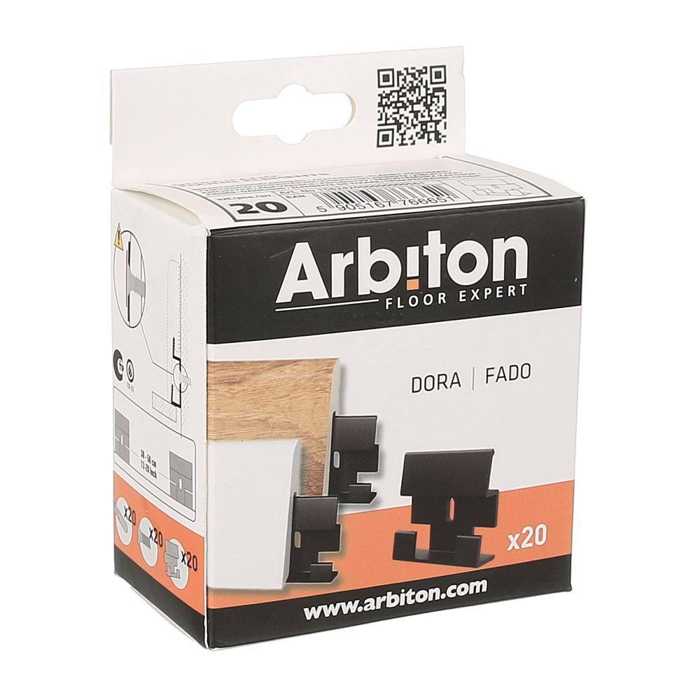 Clema plastic plinta Arbiton Dora imagine
