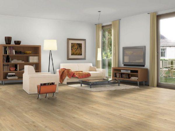 Parchet EGGER PRO Design Stejar Elegant Bej Nisip EPD015-8