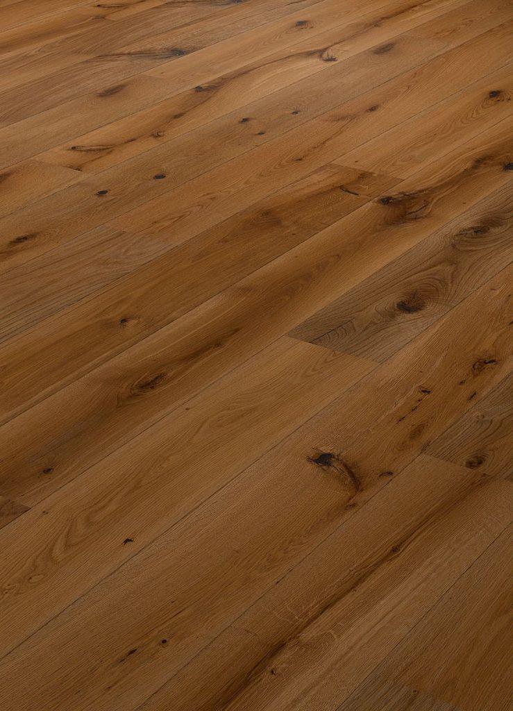 Parchet dublustratificat Eurowood, Stejar Braun Variant, periat, lacuit mat, V2