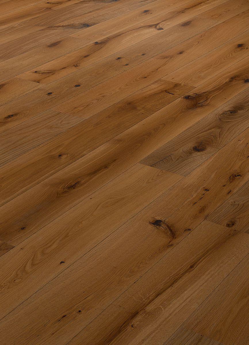 Parchet dublustratificat Eurowood, Stejar Braun Variant, periat, uleiat natur, V2