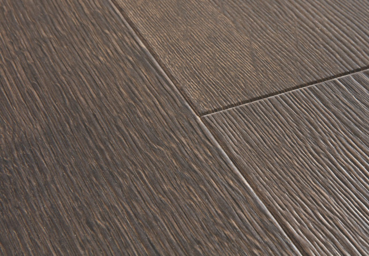 Parchet laminat Quick Step - Majestic MJ 3553 Stejar Desert, Maro Inchis Slefuit