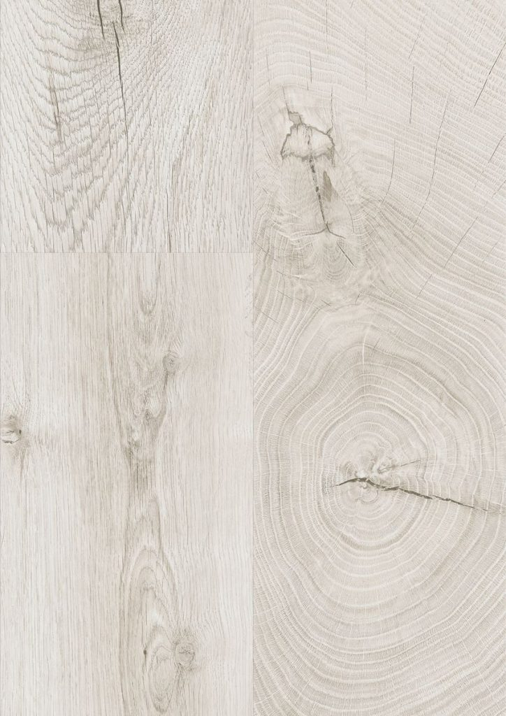Parchet laminat super lucios Kaindl Easy Touch, Stejar Fresco Snow, 8mm, 45772/0251