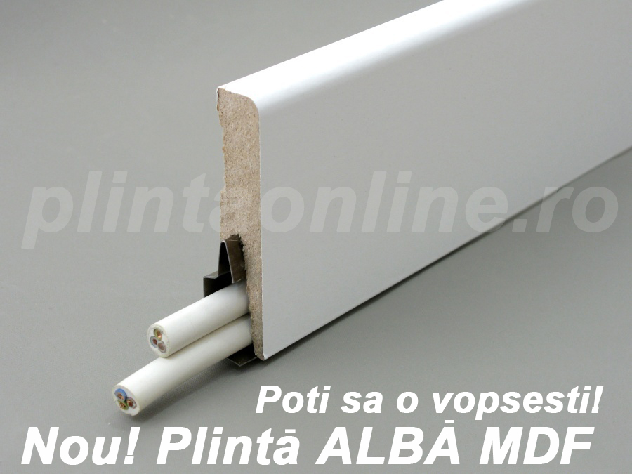 Plinta Alba MDF Arbiton imagine