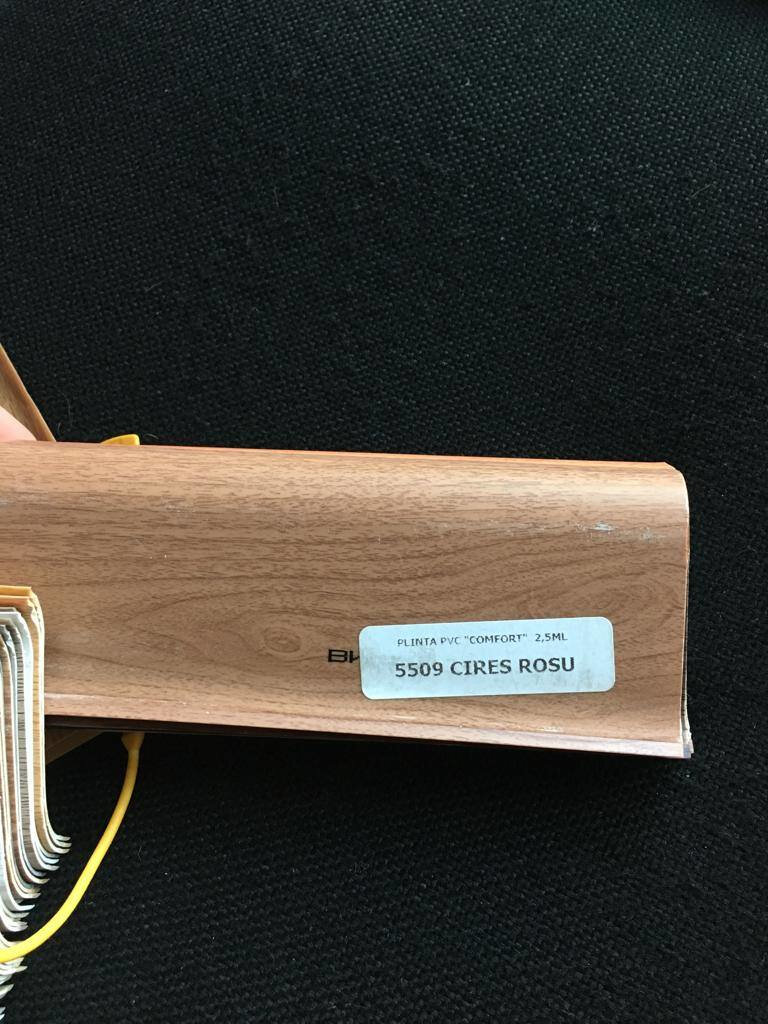 Plinta flexibila pvc BEST 5509 Cires Rosu imagine