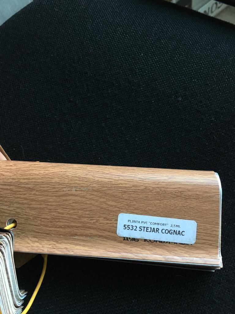 Plinta flexibila pvc BEST 5532 Stejar Cognac poza noua