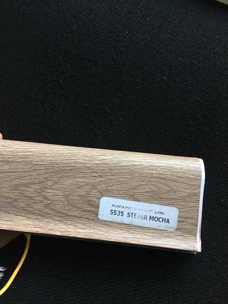Plinta flexibila pvc BEST 5535 Stejar Moka
