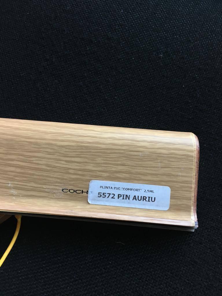 Plinta flexibila pvc BEST 5572 Pin Auriu
