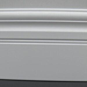 Plinta mdf alba inalta 14.5cm