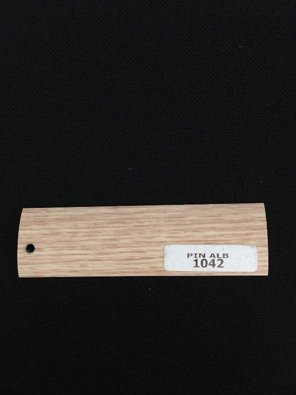 Prag trecere aluminiu Pin Alb 1042 imagine