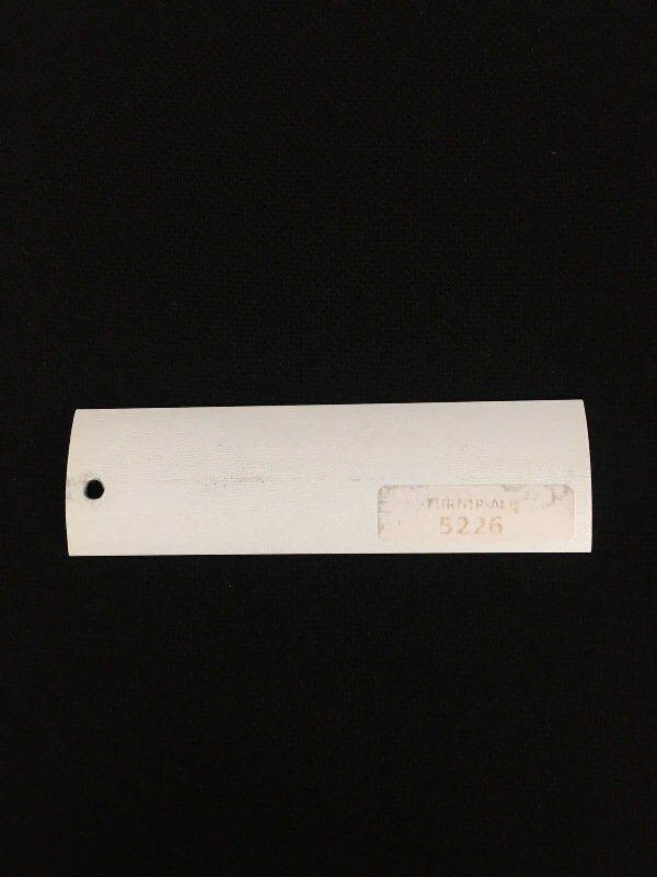 Prag trecere aluminiu Furnir Alb 5226