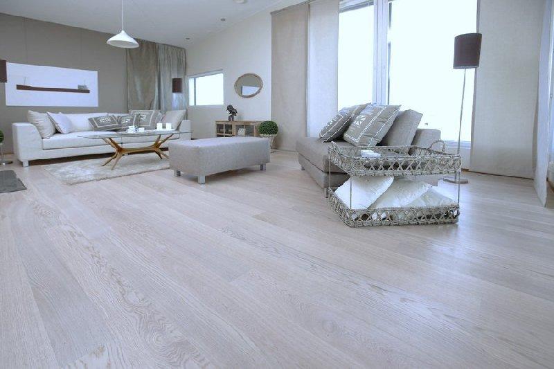 Parchet stratificat Karelia Polarwood Oak Premium Elara White Matt