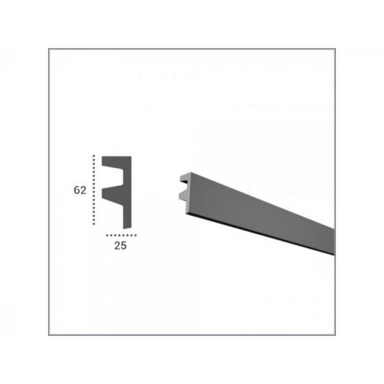 Profil pentru banda LED din poliuretan KF501 poza noua