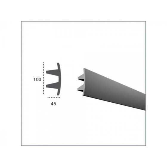 Profil pentru banda LED din poliuretan KF503 poza noua 2021