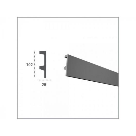 Profil pentru banda LED din poliuretan KF504 poza noua