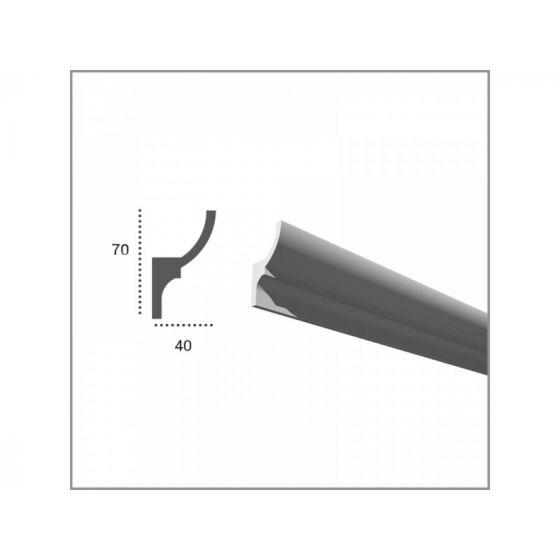 Profil pentru banda LED din poliuretan KF701 2
