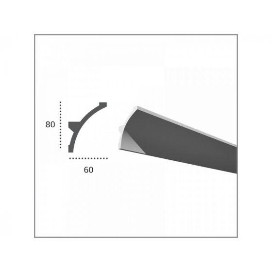 Profil pentru banda LED din poliuretan KF702 poza noua