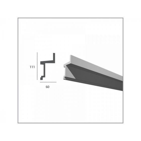 Profil pentru banda LED din poliuretan KF705 2
