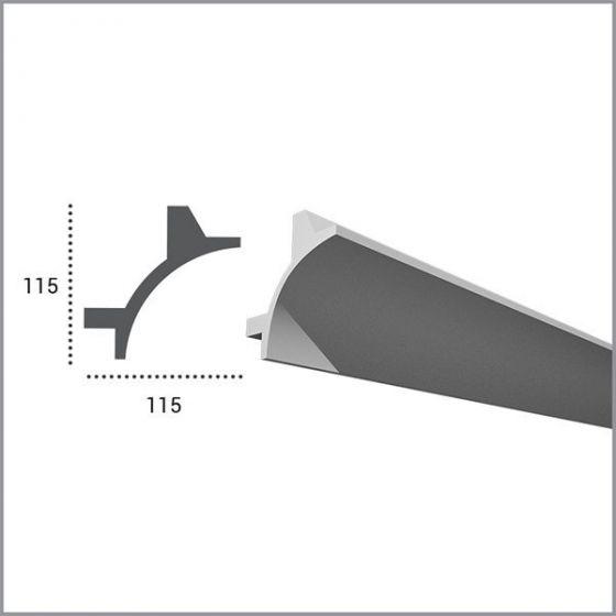Profil pentru banda LED din poliuretan KF706 2