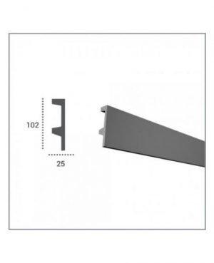 Profil pentru banda LED din poliuretan flexibil KF504 2