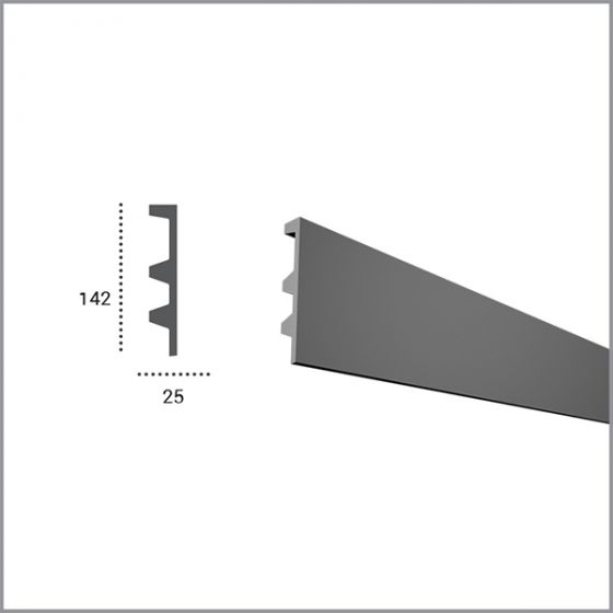 Profil pentru banda LED din poliuretan flexibil KF505F 2