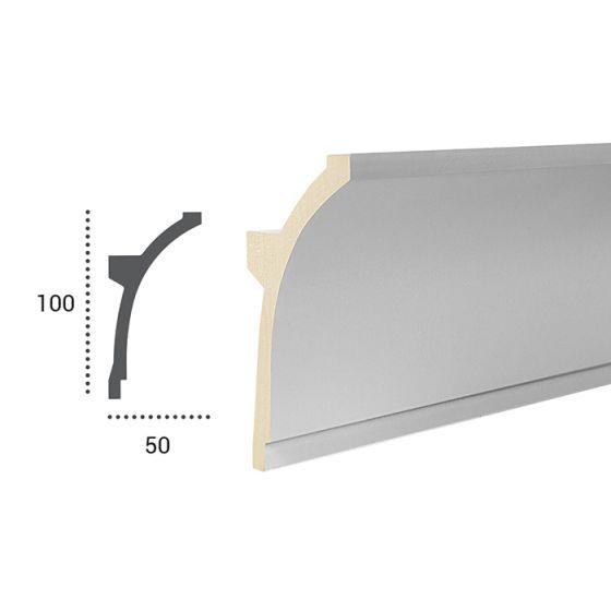Profil pentru banda LED din poliuretan flexibil KF704F 3