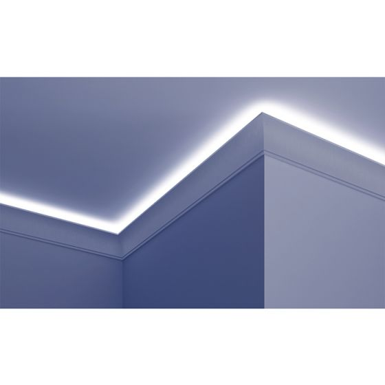 Profil pentru banda LED din poliuretan flexibil KF704F poza noua