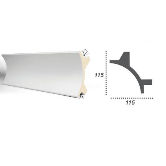 Profil pentru banda LED din poliuretan flexibil KF706F 2
