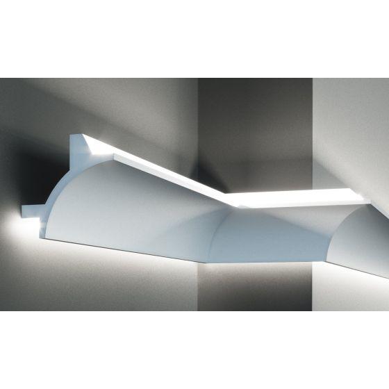 Profil pentru banda LED din poliuretan flexibil KF706F poza noua