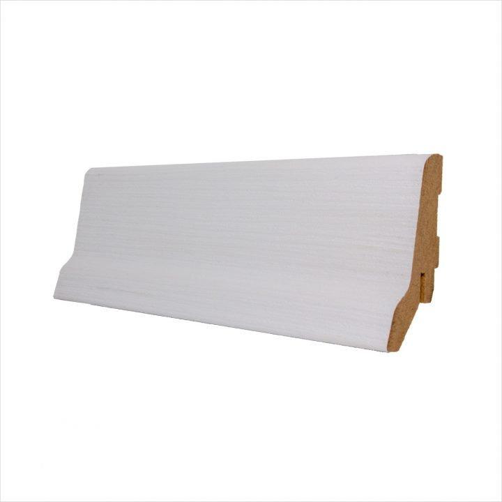 Plinta mdf alb Blanco SP60
