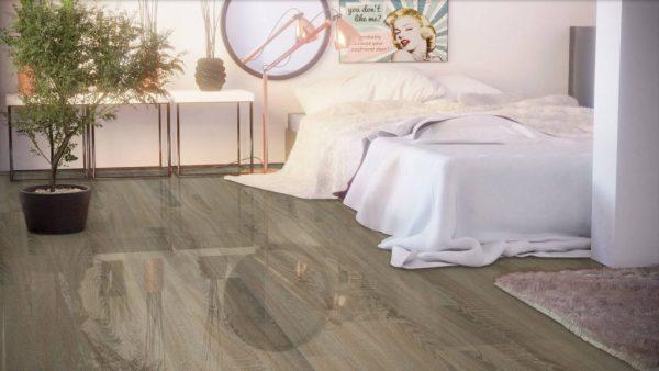 Parchet laminat super lucios Falquon Wood Germania Sonoma Oak D4186 4