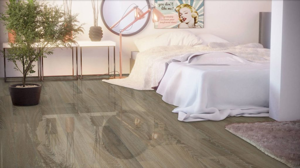 Parchet laminat super lucios Falquon Wood Sonoma Oak D4186​