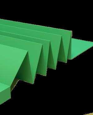 Izo 3mm Harmonica verde