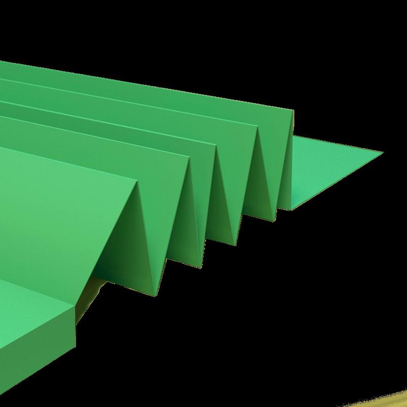 Izofloor 3 mm Harmonica Express Mat verde VTM Holding