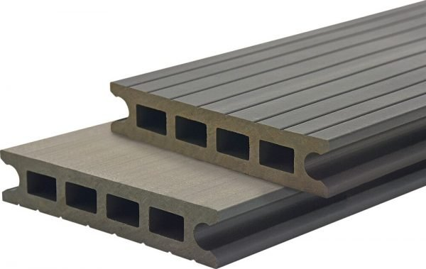 Deck din TWPC Lunacomp, gri graphite, periat ori riflat fin