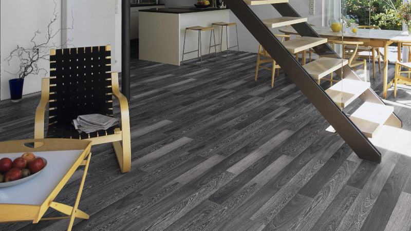 Parchet laminat Kronotex Dynamic Alb Negru D2955 imagine