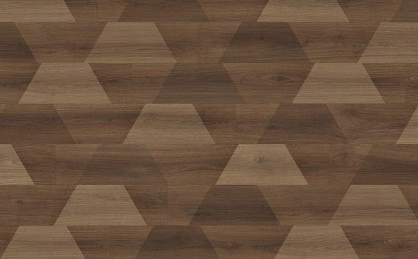 Parchet Egger Pro Design GreenTec cu izolatie fonica EPD037 Nuc Bedollo creativ 2