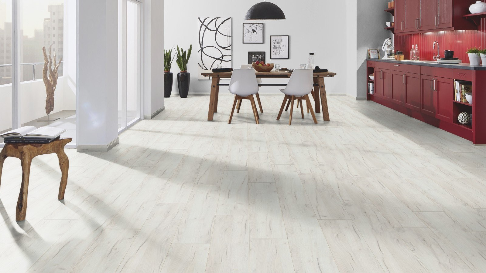 Parchet laminat Krono Original Forte White Kraft Oak K001